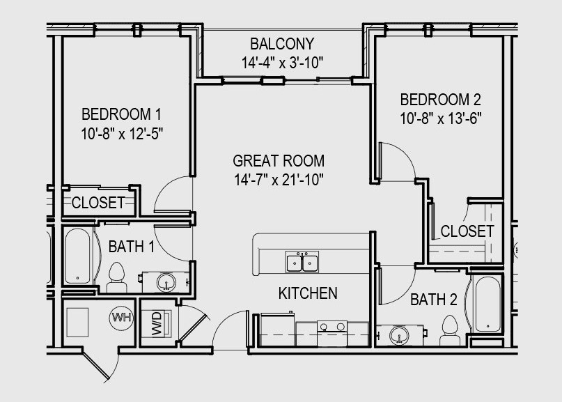 Bedroom Apartments Bloomington Gateway Commercial Space And